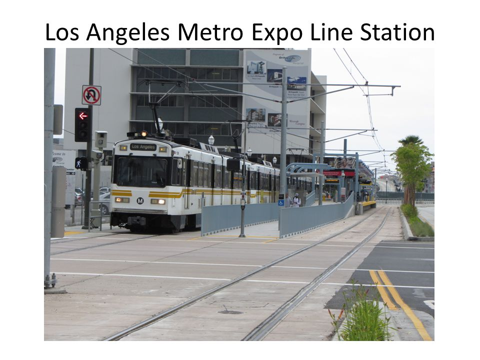 Los Angeles Metro Expo Line Station