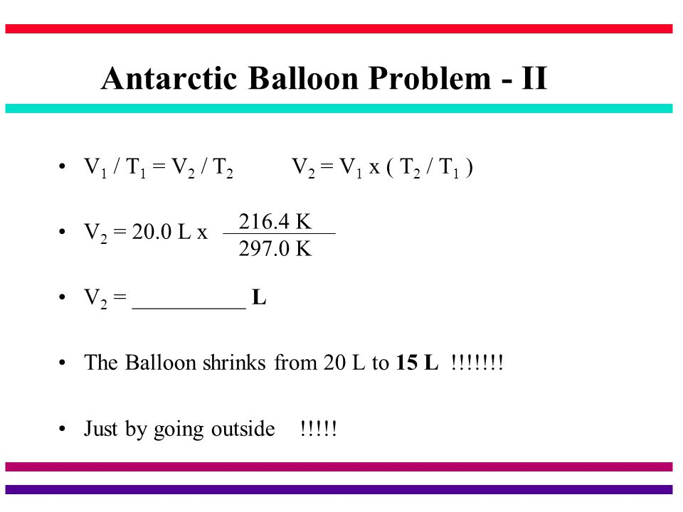 Antarctic Balloon Problem - II