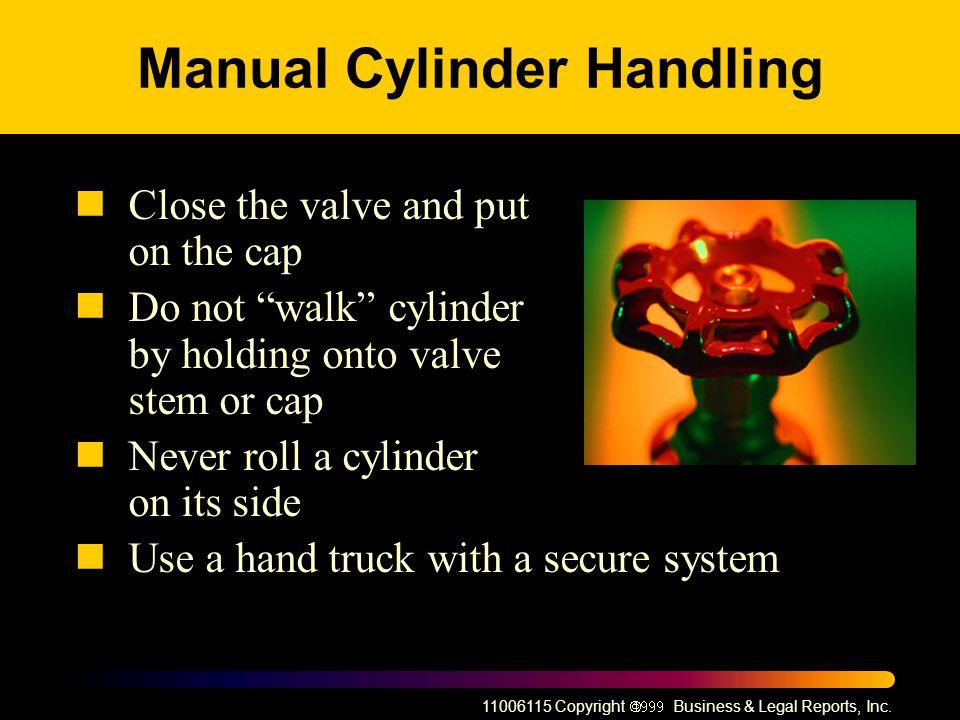 Manual Cylinder Handling