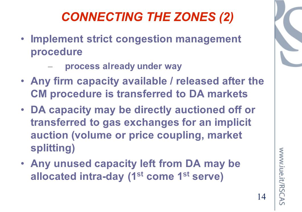 CONNECTING THE ZONES (2)