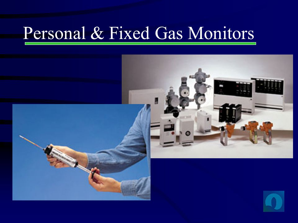 Personal & Fixed Gas Monitors