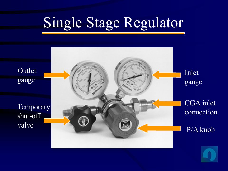 Single Stage Regulator