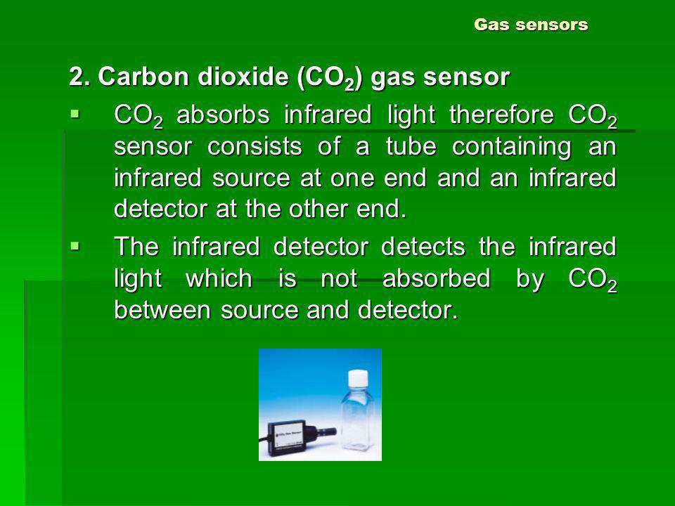 2. Carbon dioxide (CO2) gas sensor