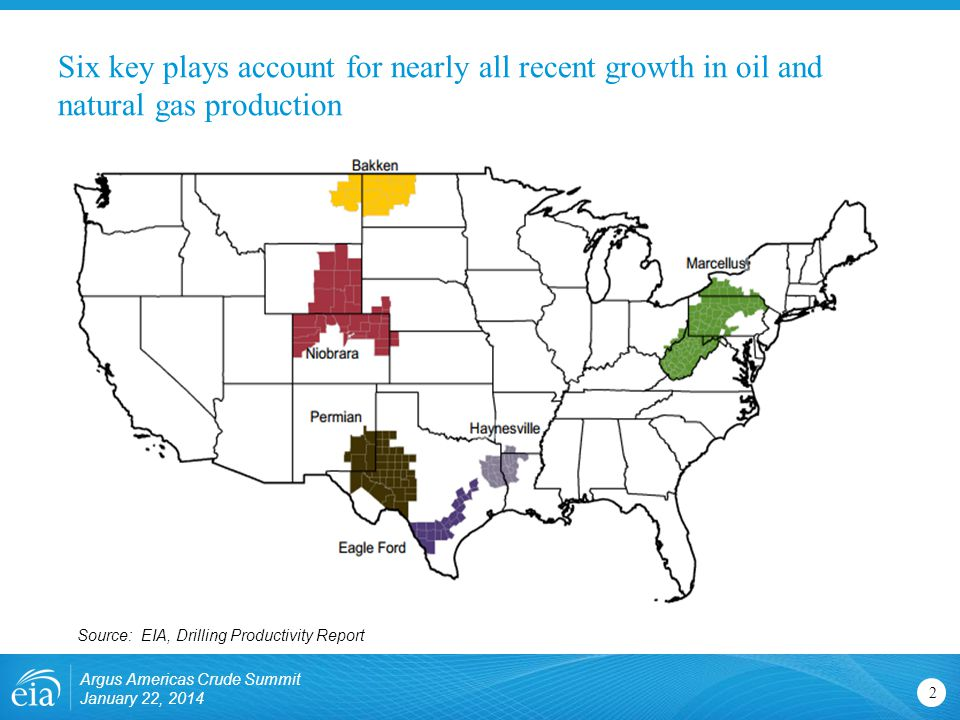 Six key plays account for nearly all recent growth in oil and natural gas production
