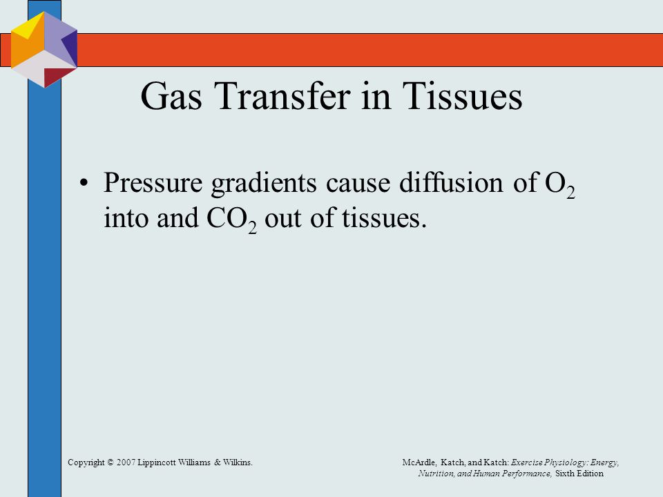 Gas Transfer in Tissues