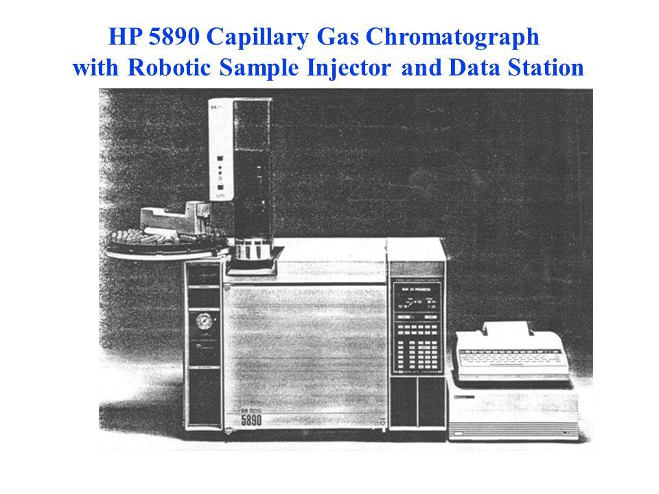 HP 5890 Capillary Gas Chromatograph