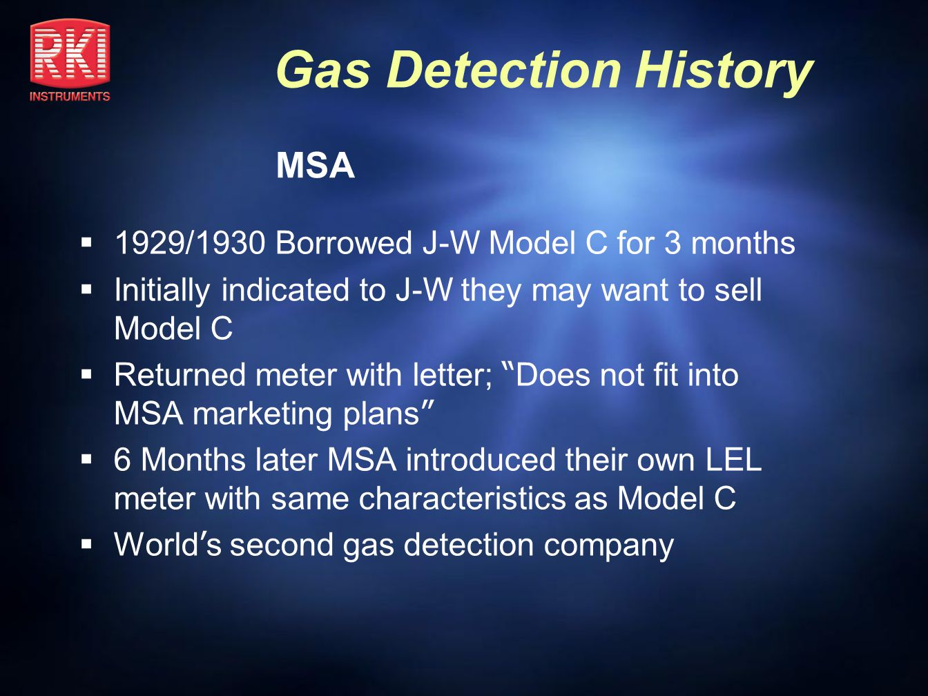 MSA 1929/1930 Borrowed J-W Model C for 3 months