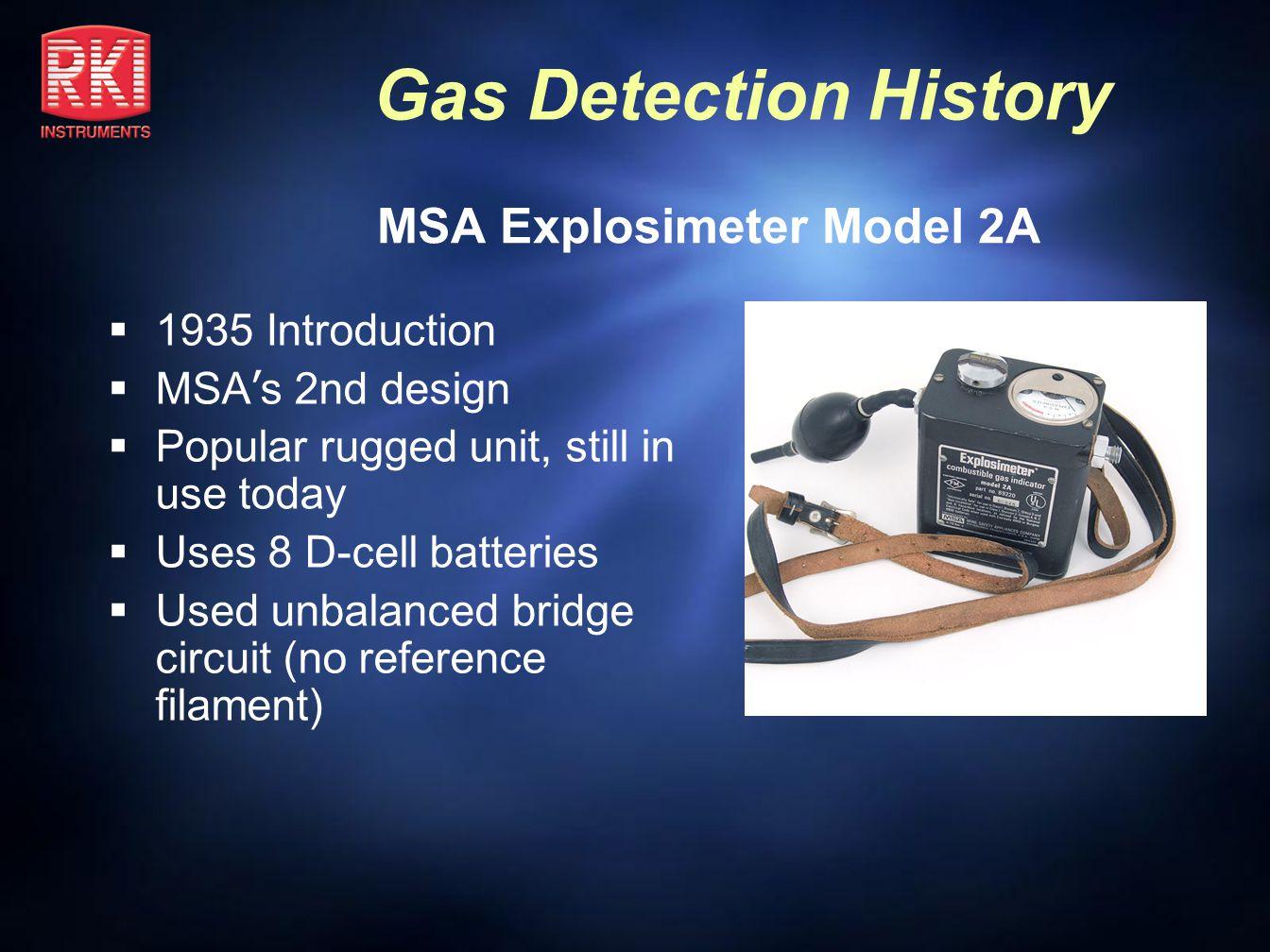 MSA Explosimeter Model 2A