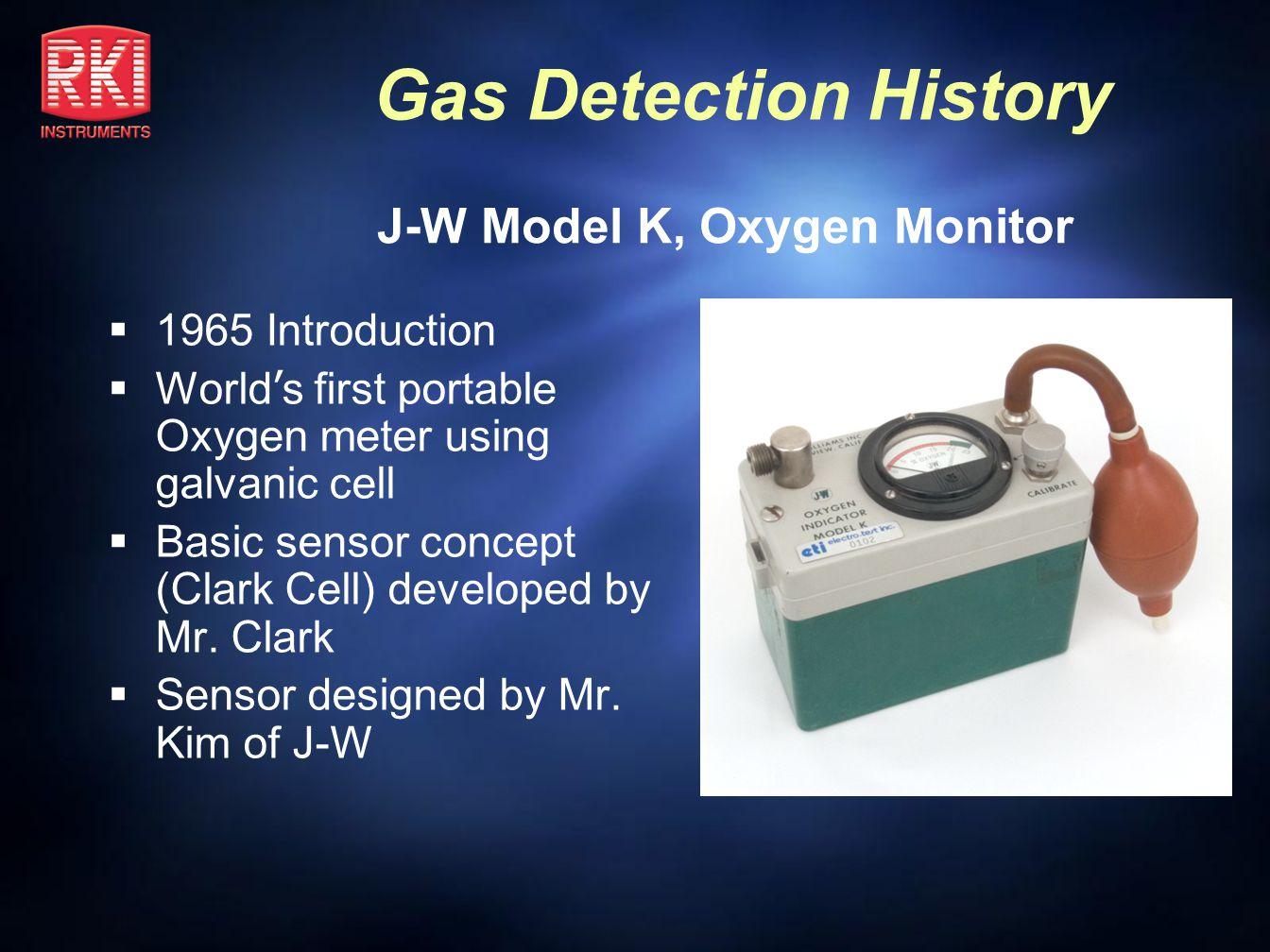 J-W Model K, Oxygen Monitor