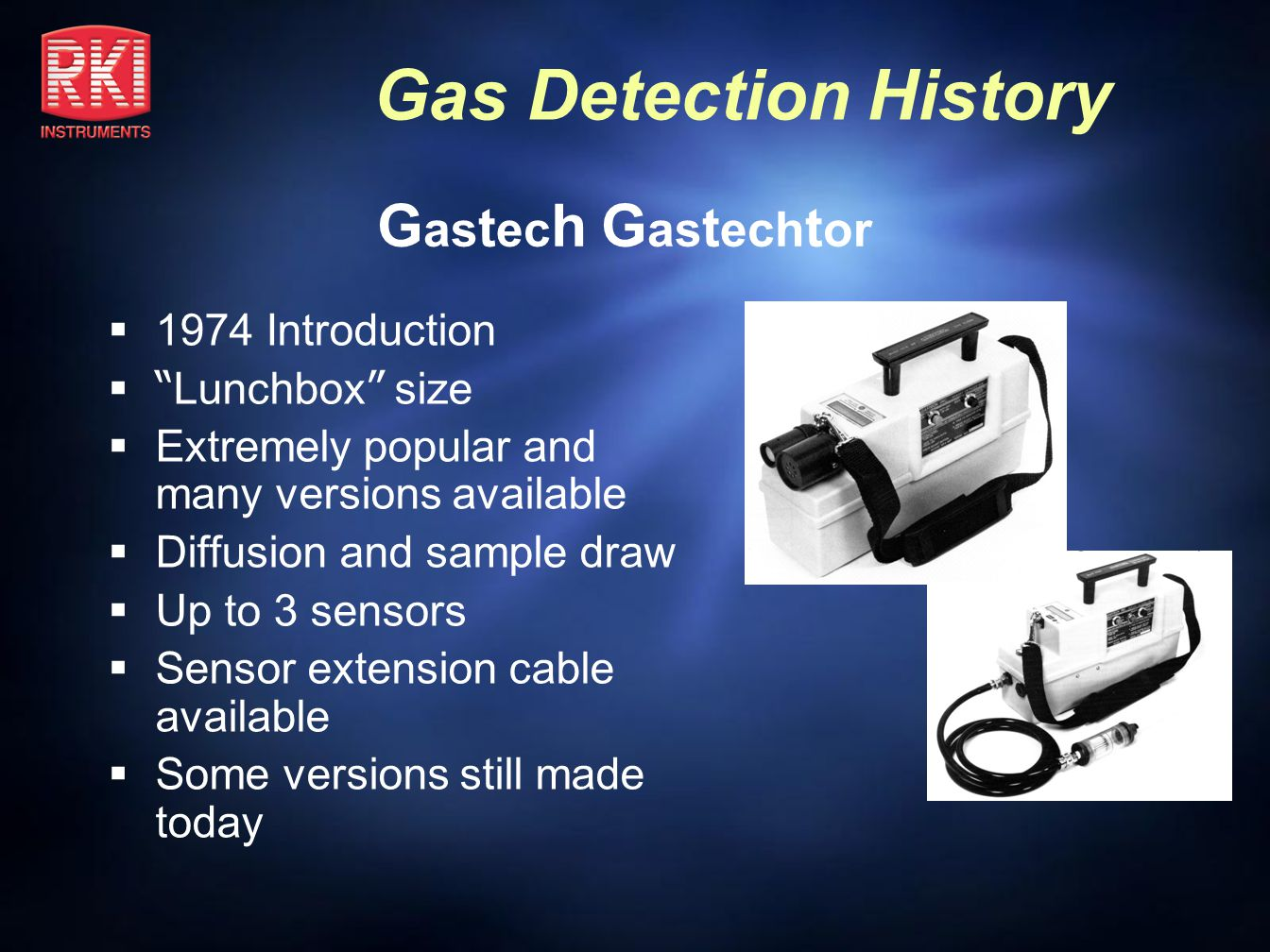 Gastech Gastechtor 1974 Introduction Lunchbox size