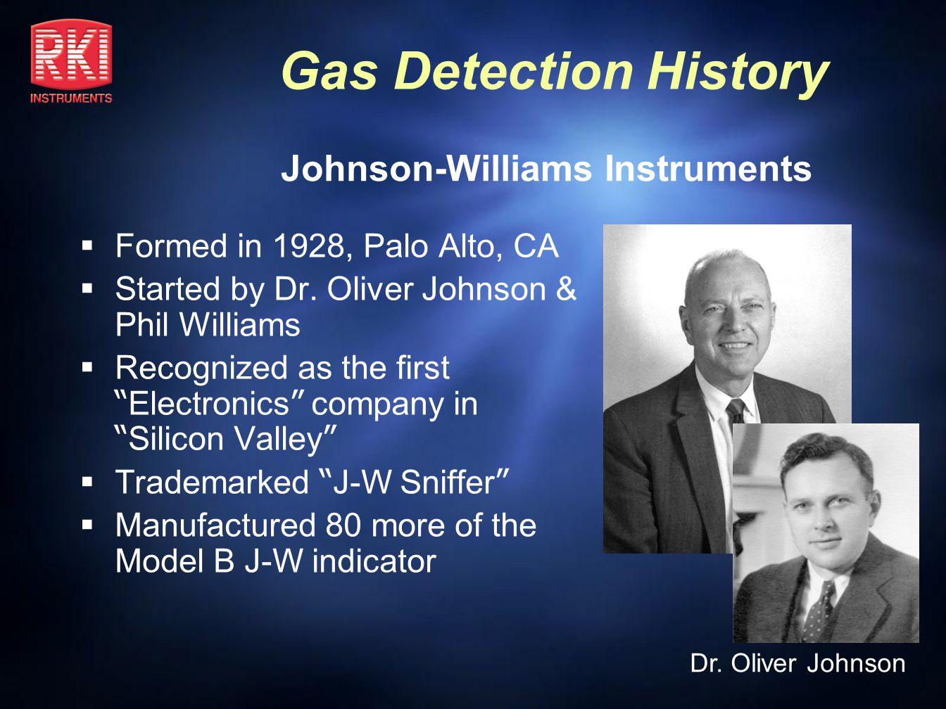 Johnson-Williams Instruments