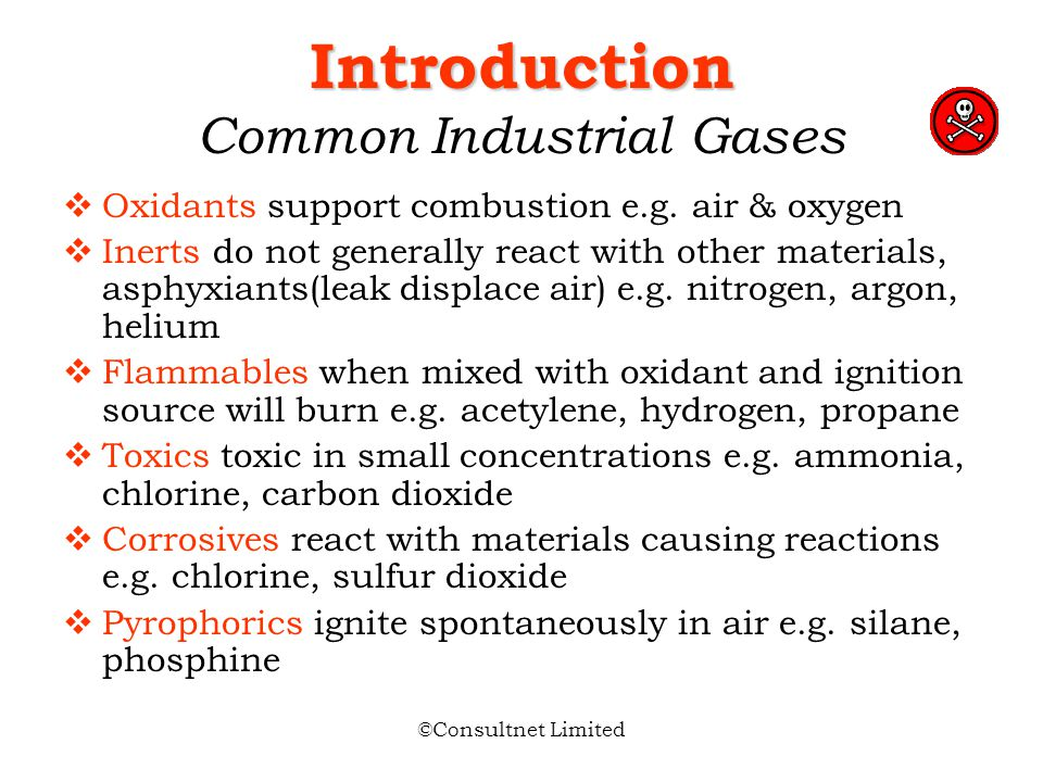 Introduction Common Industrial Gases