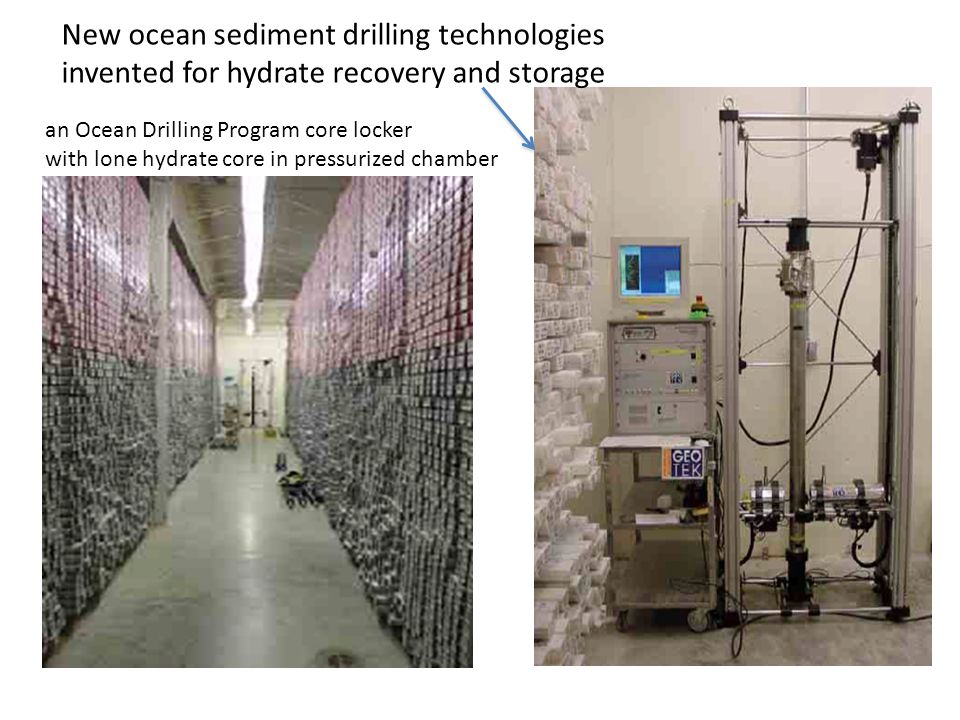 New ocean sediment drilling technologies