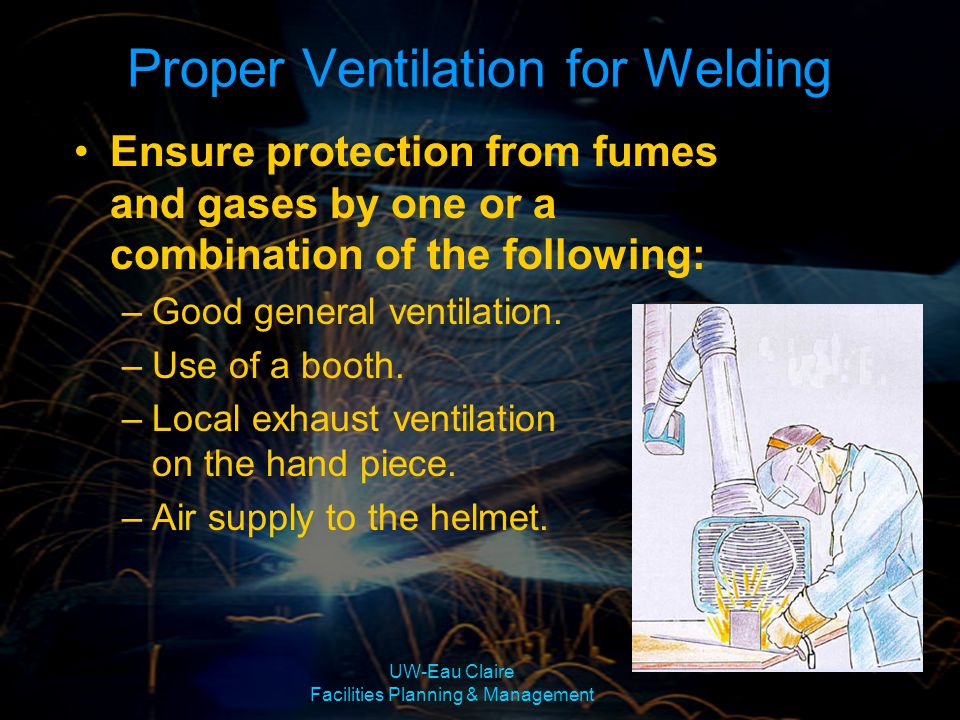 Proper Ventilation for Welding
