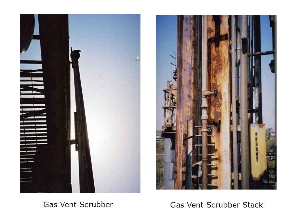 Gas Vent Scrubber Stack