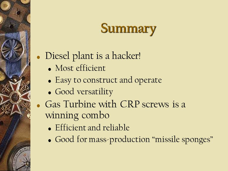 Summary Diesel plant is a hacker!
