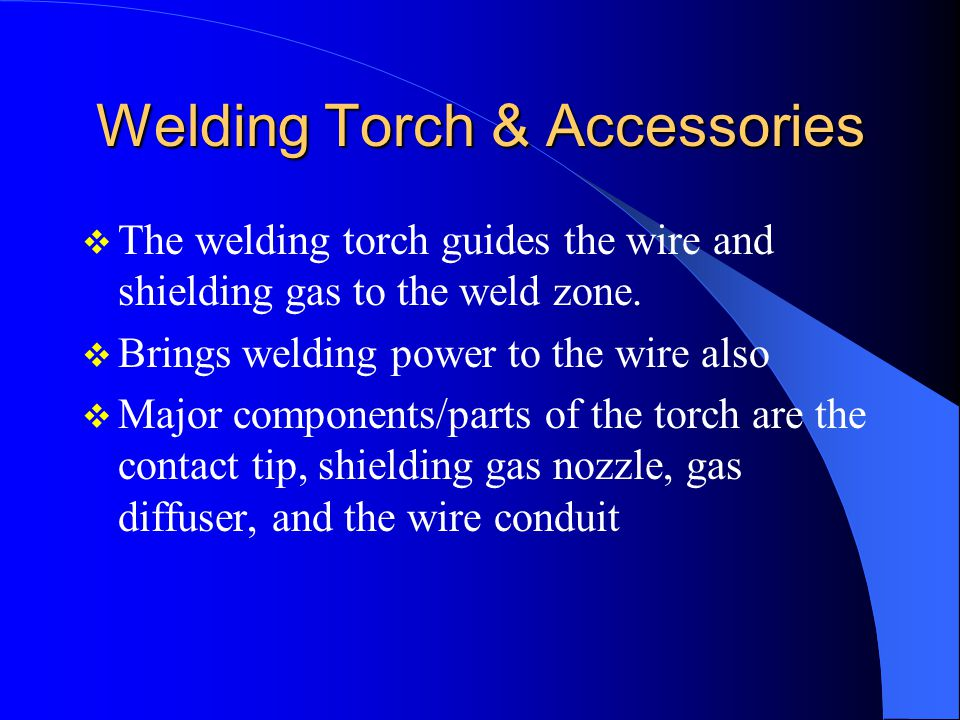 Welding Torch & Accessories