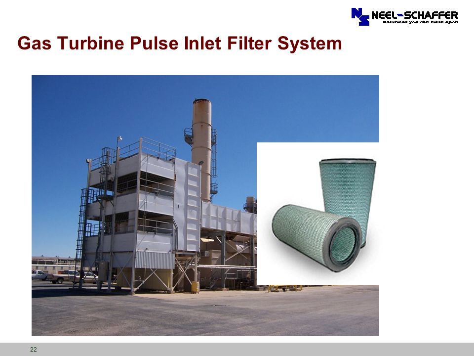 Gas Turbine Pulse Inlet Filter System