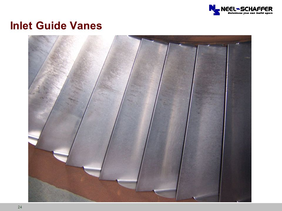 Inlet Guide Vanes 24