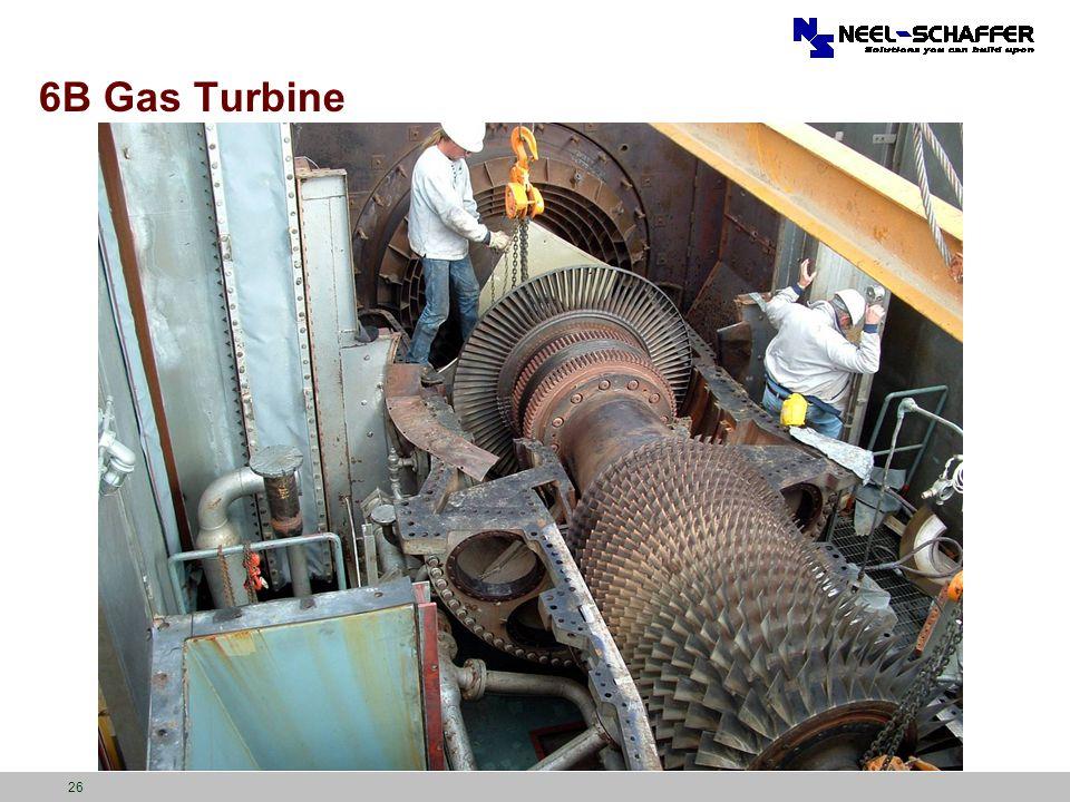 6B Gas Turbine 26