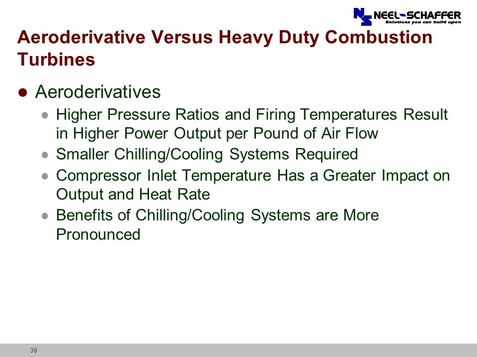 Aeroderivative Versus Heavy Duty Combustion Turbines