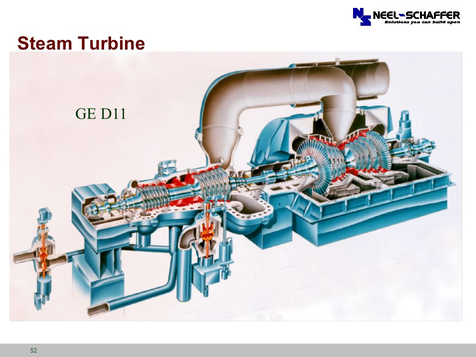 Steam Turbine GE D11 Aries – ½ of exhaust hood, Downward exhaust 52
