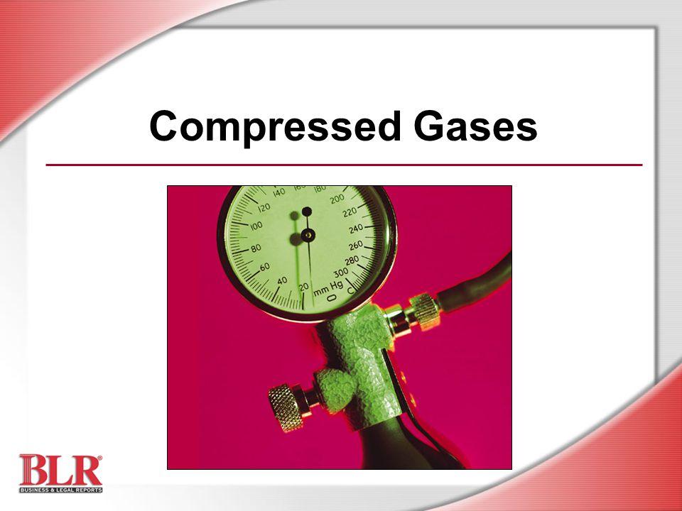 Compressed Gases Slide Show Notes