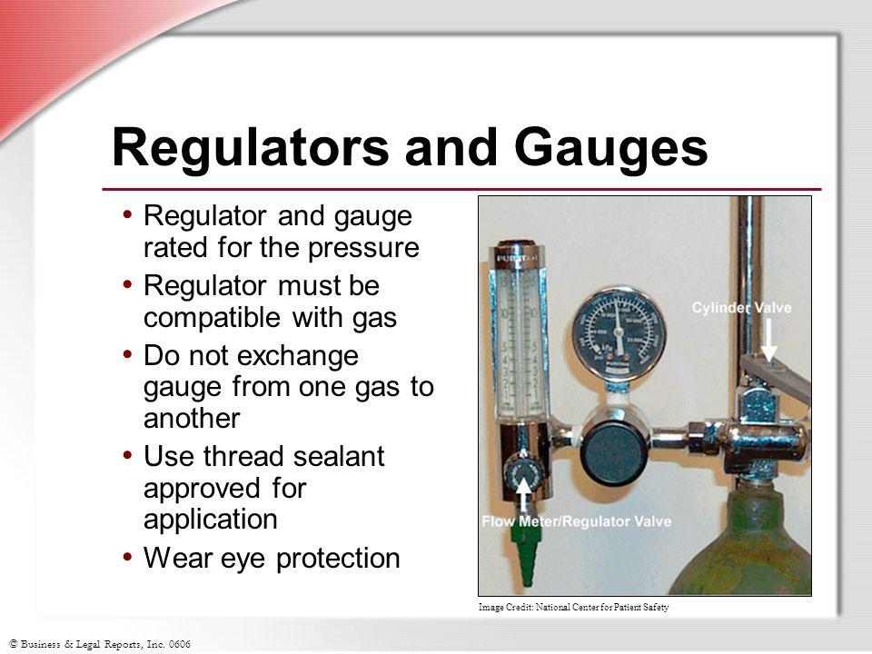 Regulators and Gauges Regulator and gauge rated for the pressure
