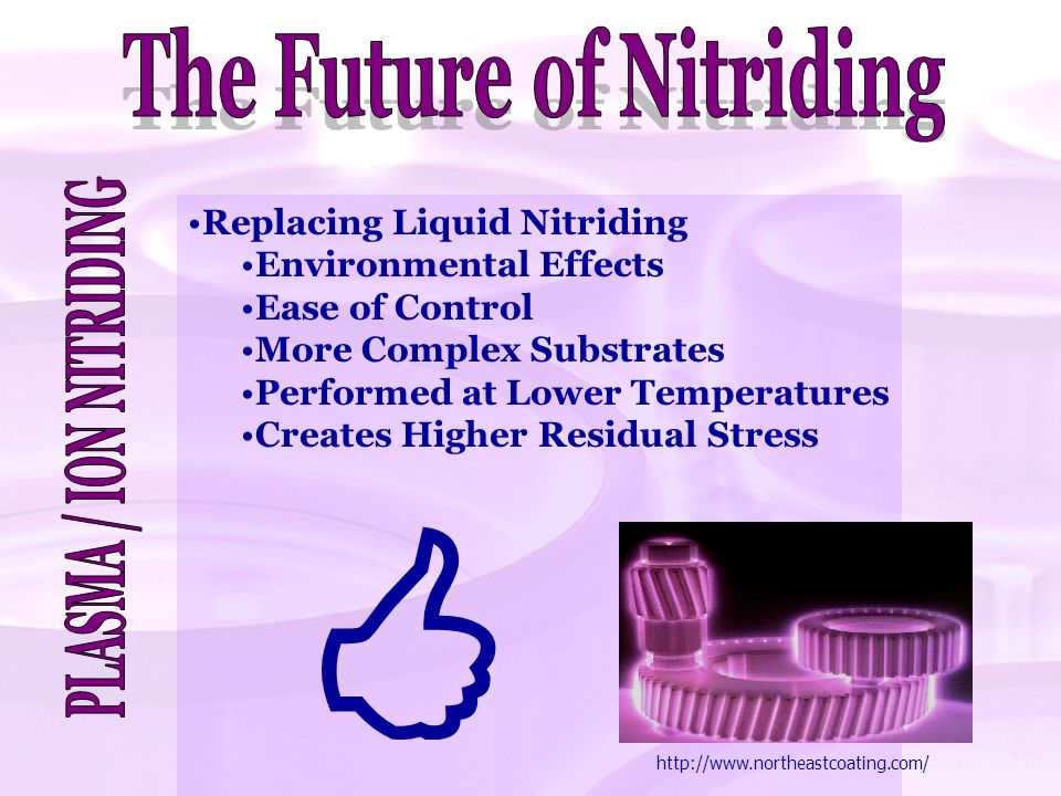 The Future of Nitriding