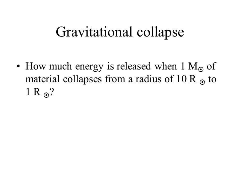 Gravitational collapse