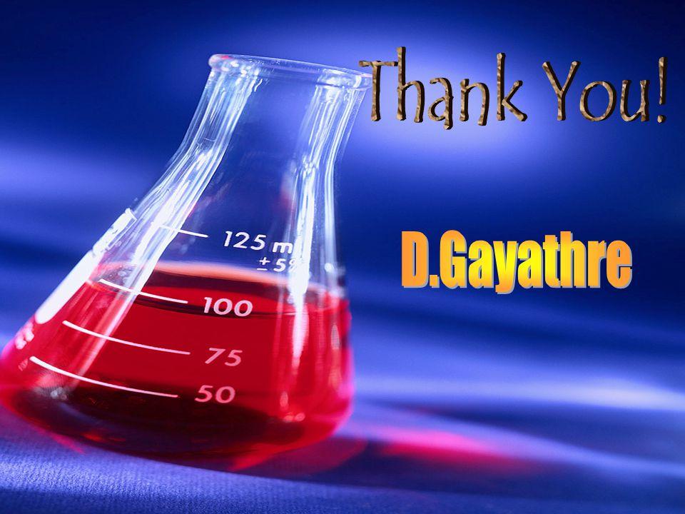 Thank You! D.Gayathre