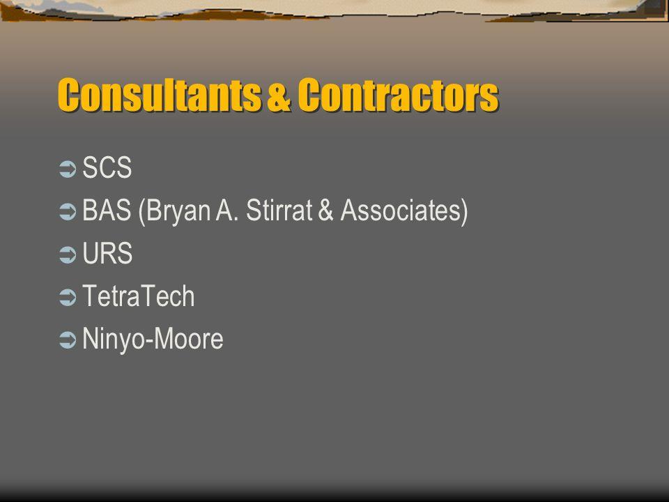 Consultants & Contractors