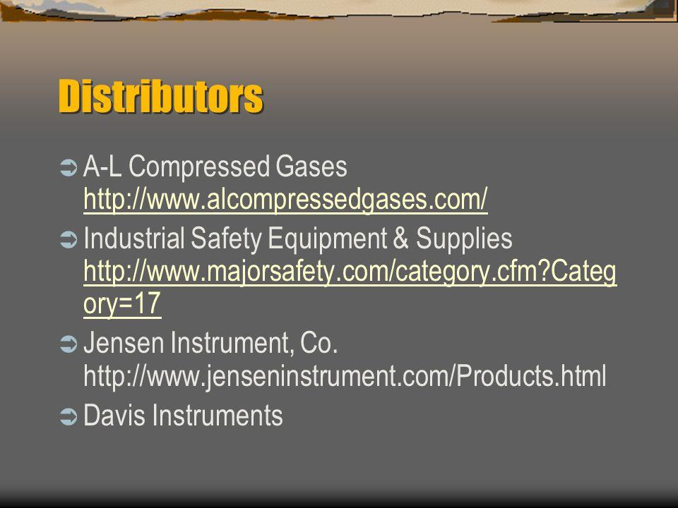 Distributors A-L Compressed Gases http://www.alcompressedgases.com/
