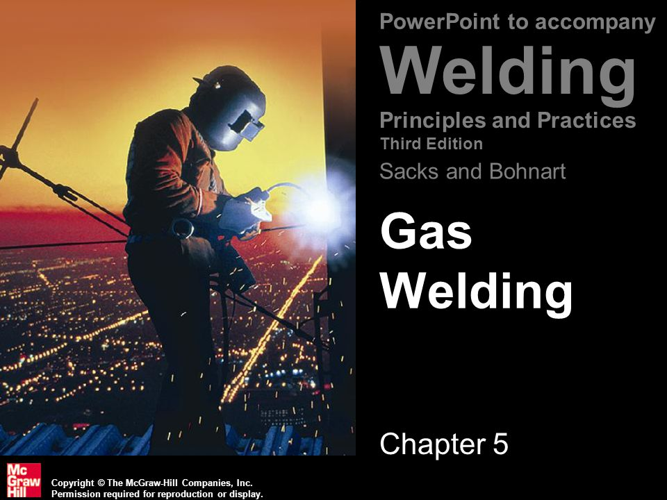Gas Welding Chapter 5