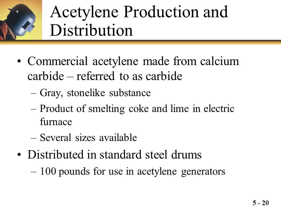 Acetylene Production and Distribution