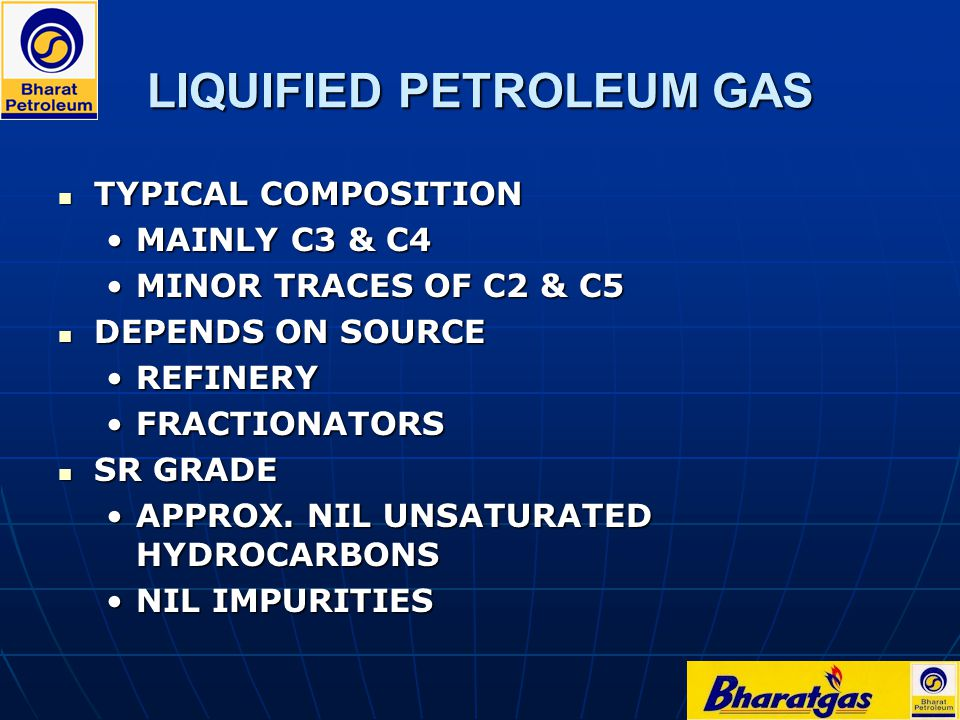 LIQUIFIED PETROLEUM GAS