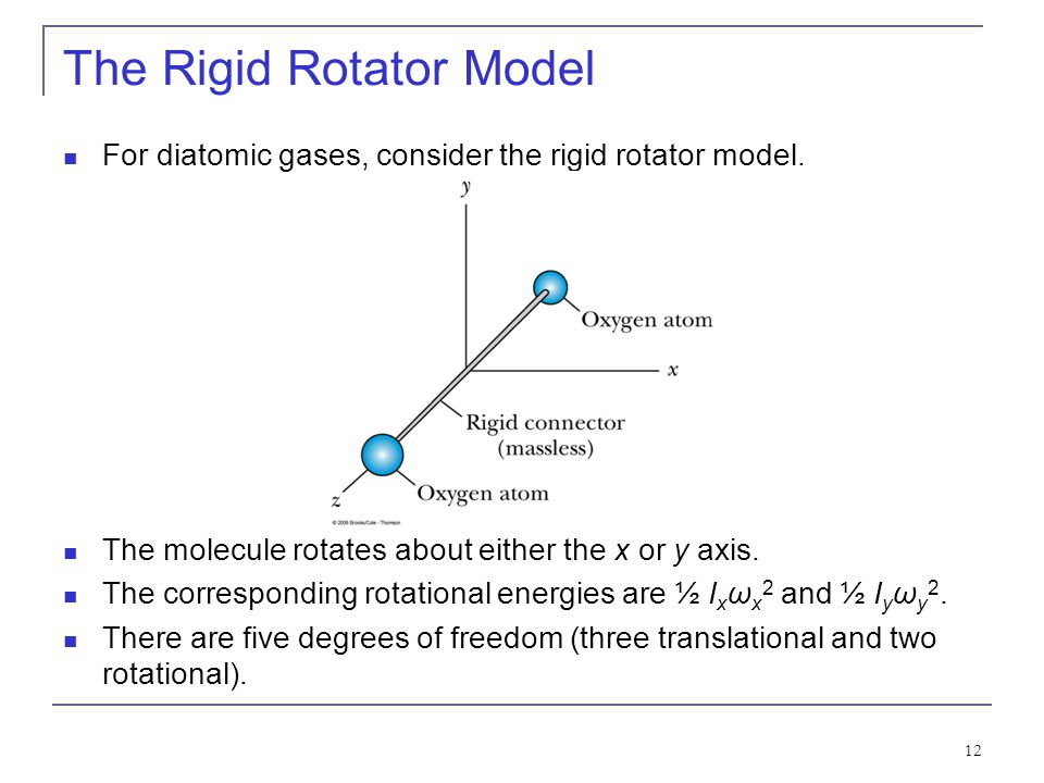 The Rigid Rotator Model
