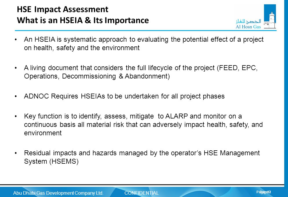 HSE Impact Assessment What is an HSEIA & Its Importance