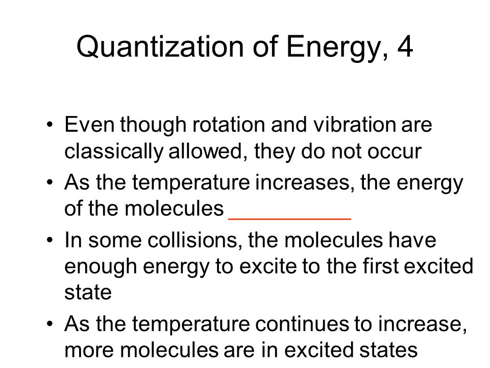 Quantization of Energy, 4