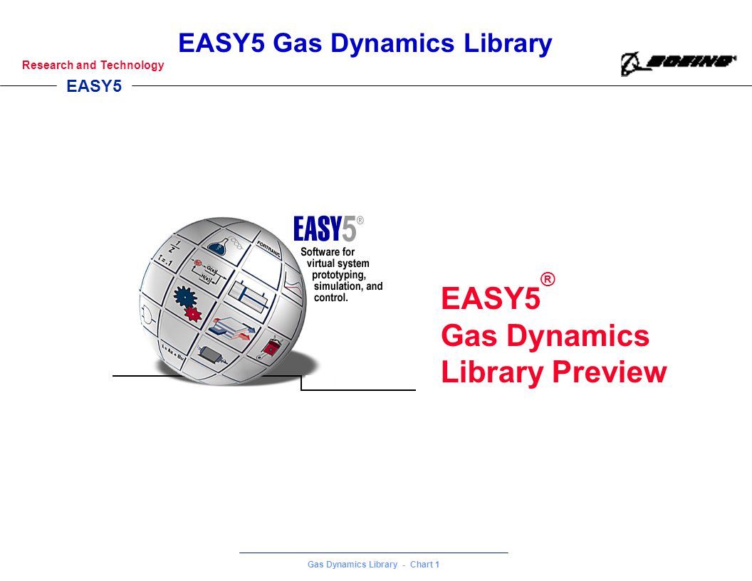 EASY5® Gas Dynamics Library Preview 1 1