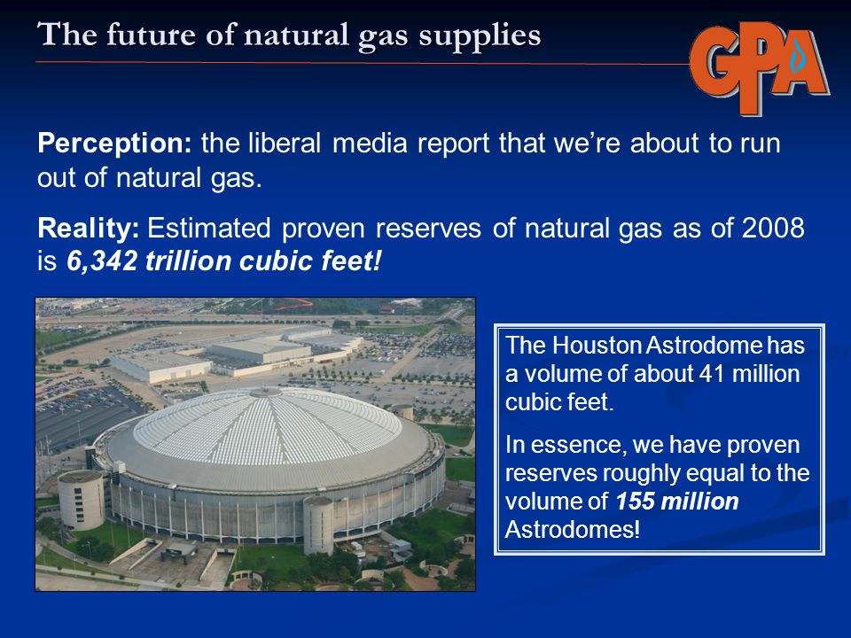 The future of natural gas supplies