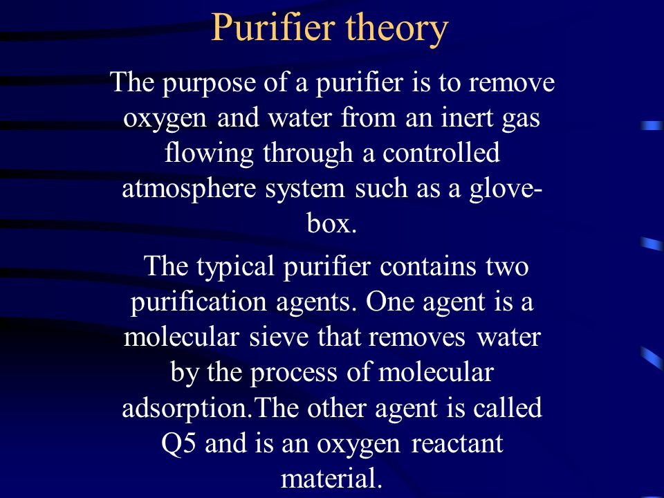 Purifier theory