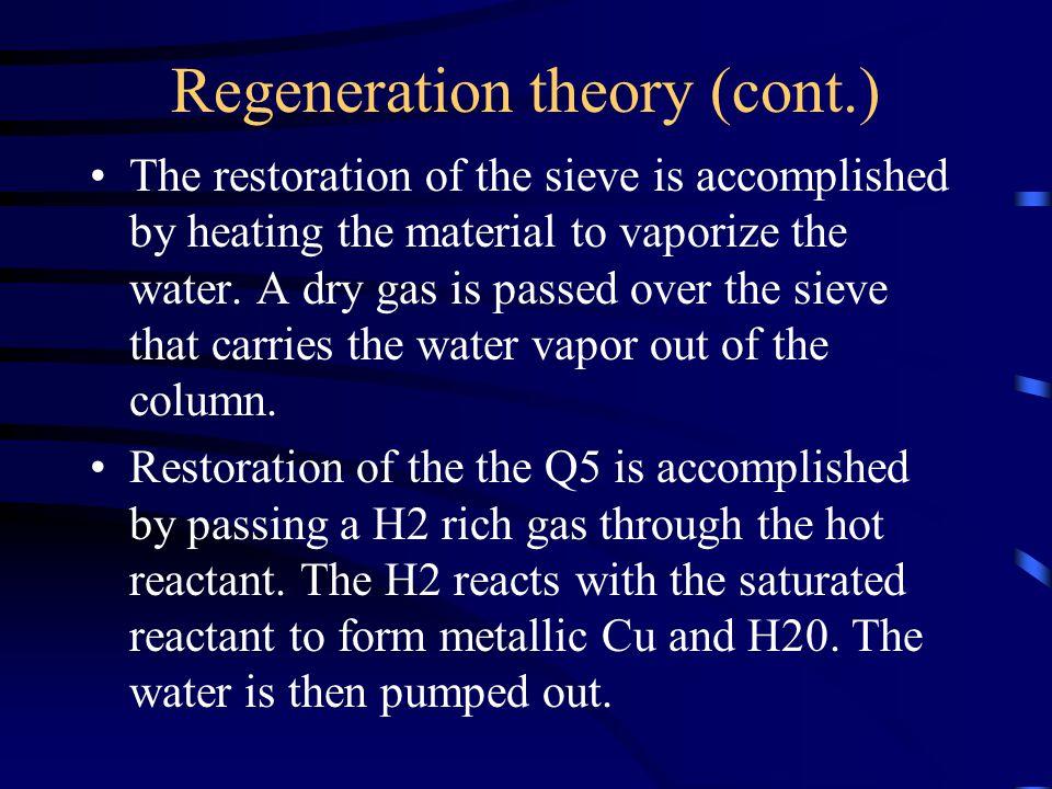 Regeneration theory (cont.)