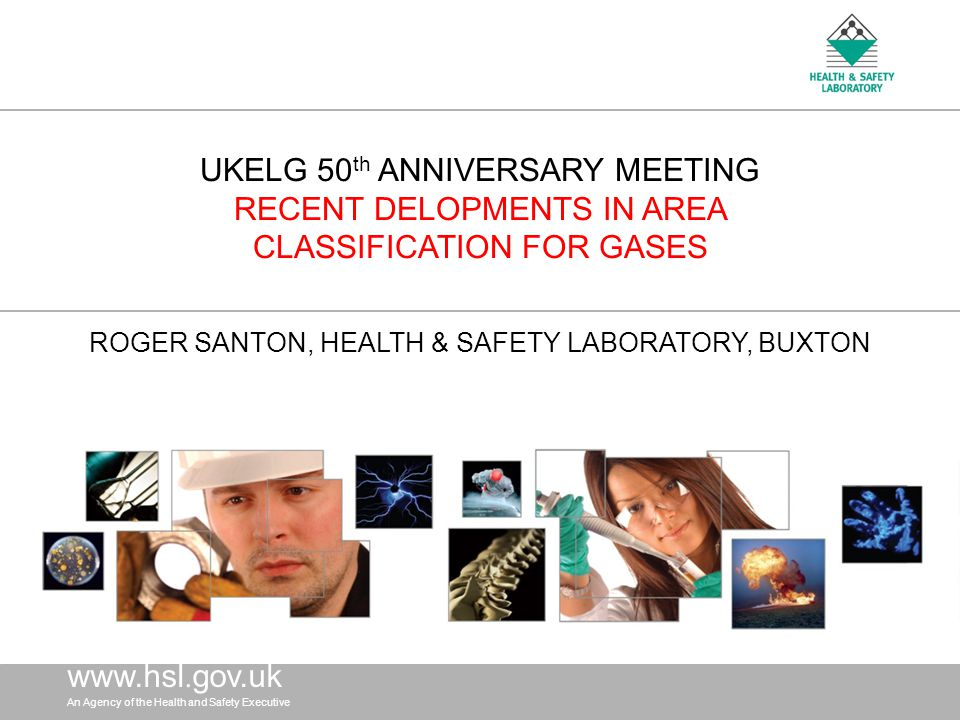 ROGER SANTON, HEALTH & SAFETY LABORATORY, BUXTON