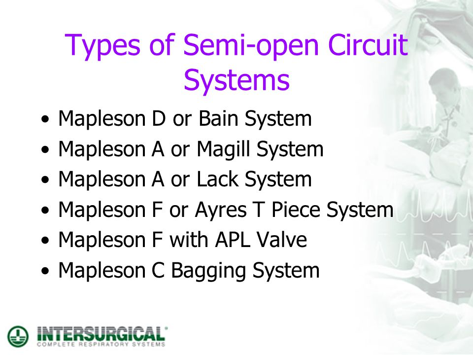 Types of Semi-open Circuit Systems