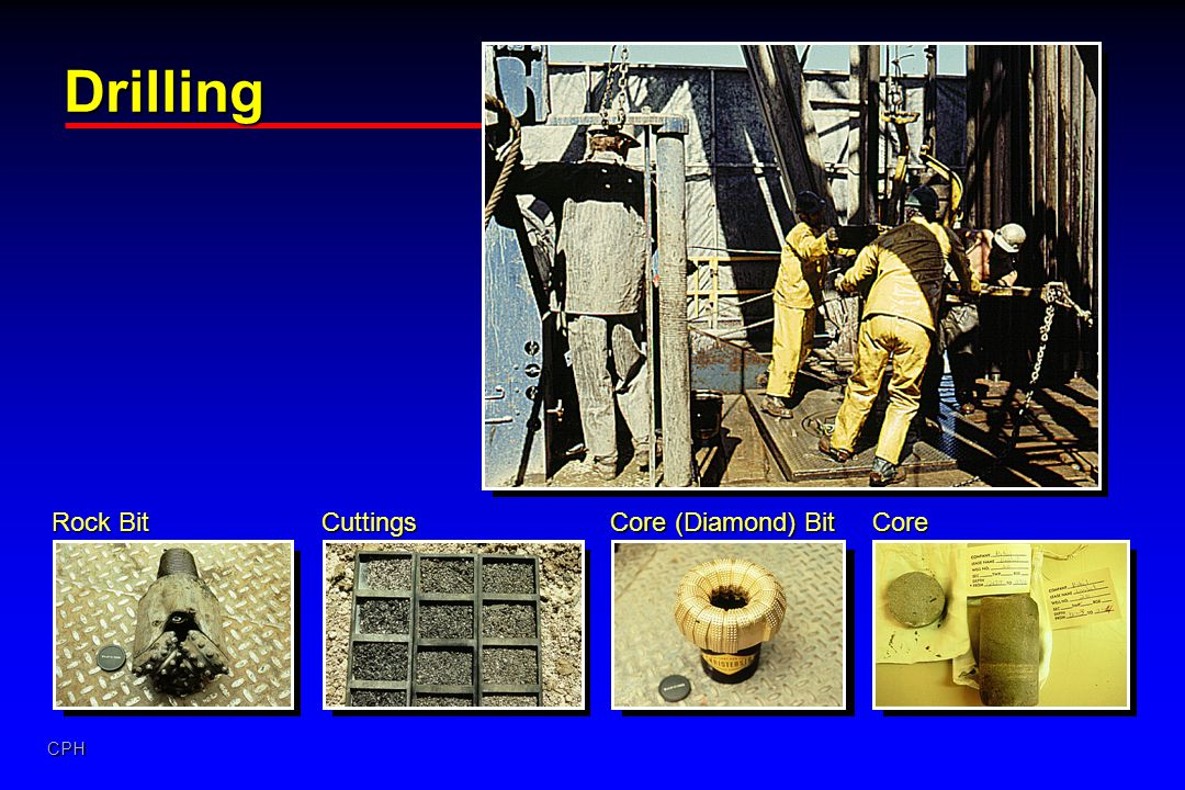 Drilling Rock Bit Cuttings Core (Diamond) Bit Core