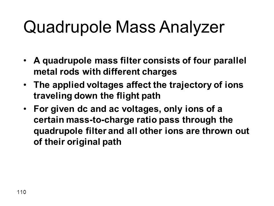 Quadrupole Mass Analyzer