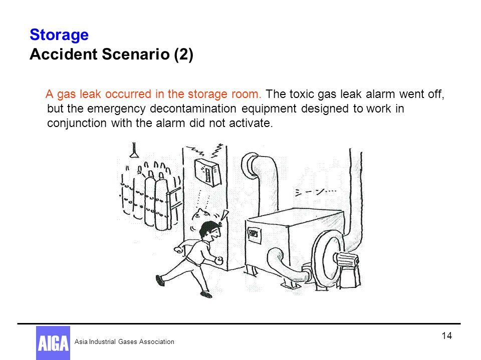 Storage Accident Scenario (2)