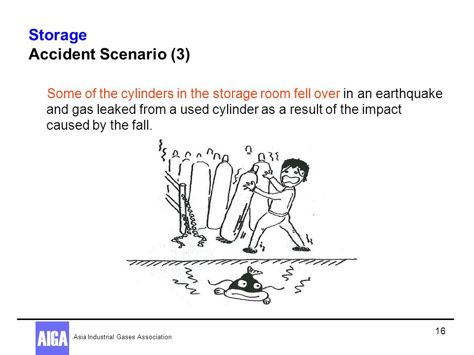 Storage Accident Scenario (3)