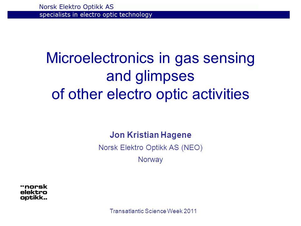 Jon Kristian Hagene Norsk Elektro Optikk AS (NEO) Norway